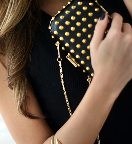 accessorizing a little black dress
