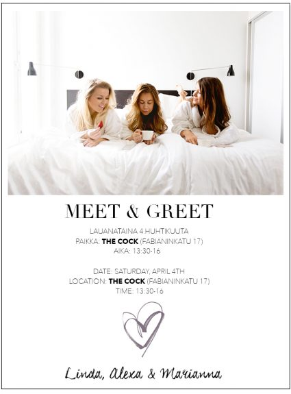 meet & greet with readers