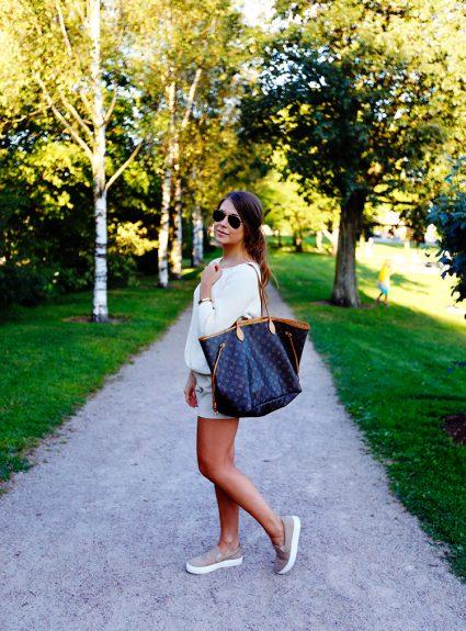 summer evening walk